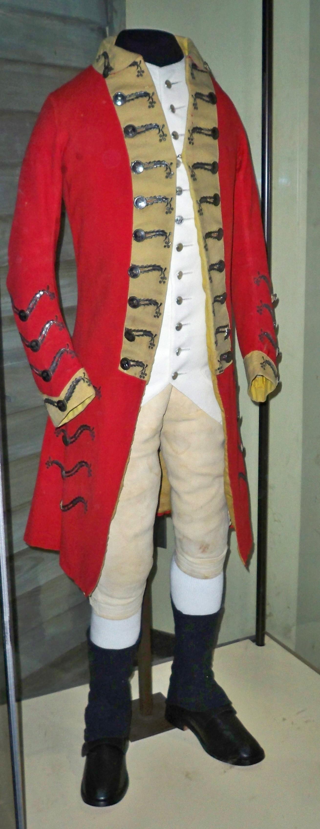 British Red Coat Uniform 12