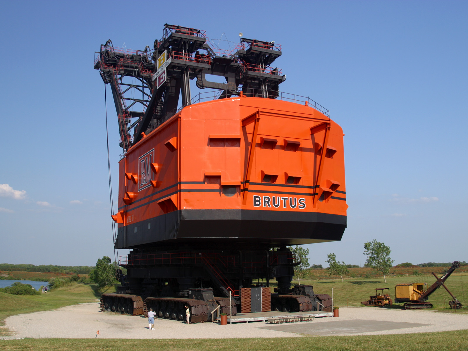 Think, that Coal strip mine hydraulic shovel matchless