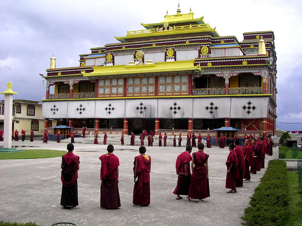 Buddhist temple in #Sikkim. | {BUDDHISM} | Pinterest | Buddhist ...