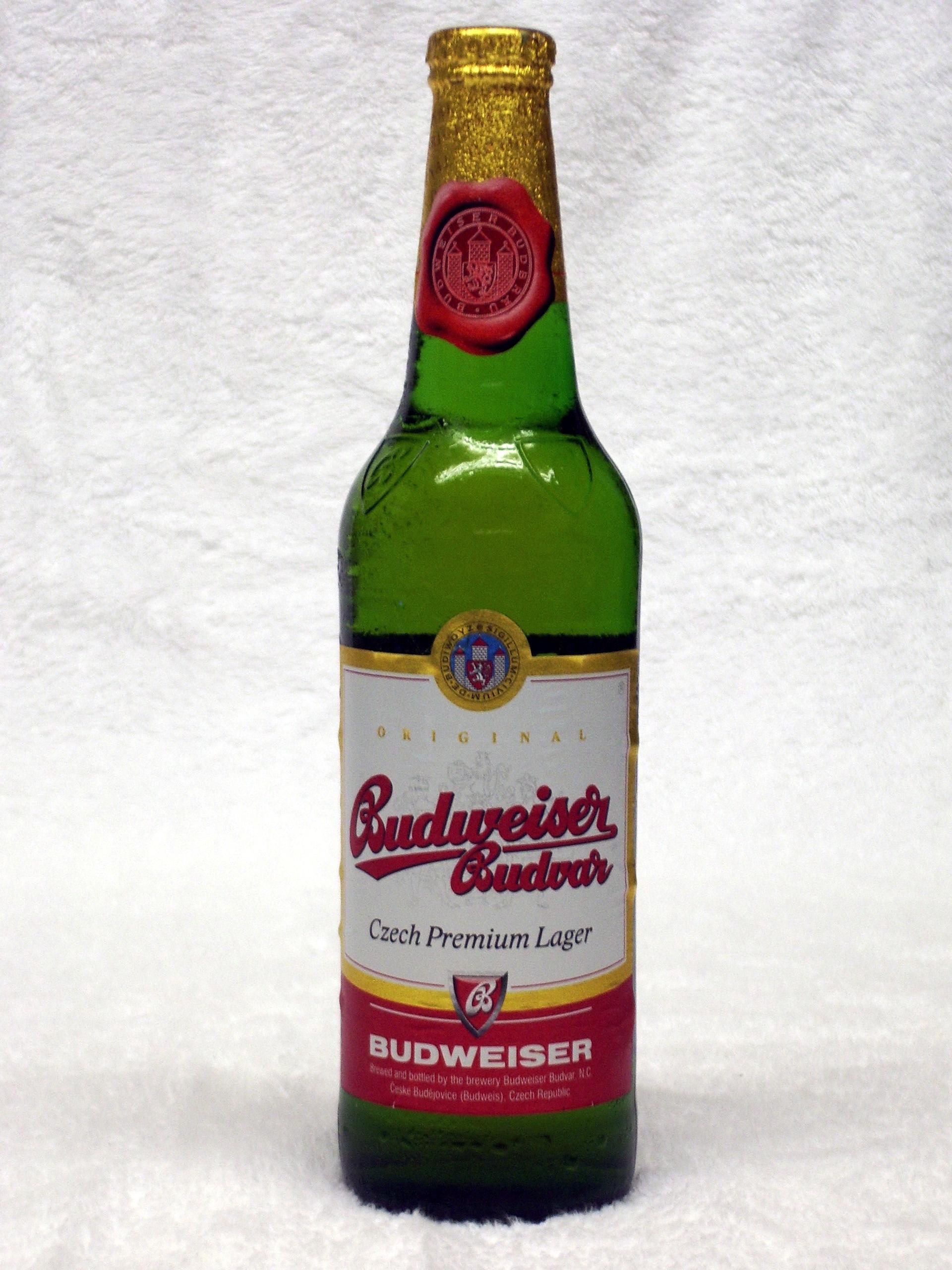 Budweiser Glass Black Crystal