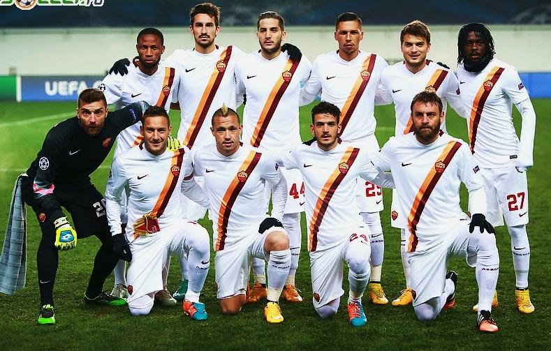 As Roma Nike Giacca Tuta Pre gara Pre match Jacket Normale L96 Champions Leagu