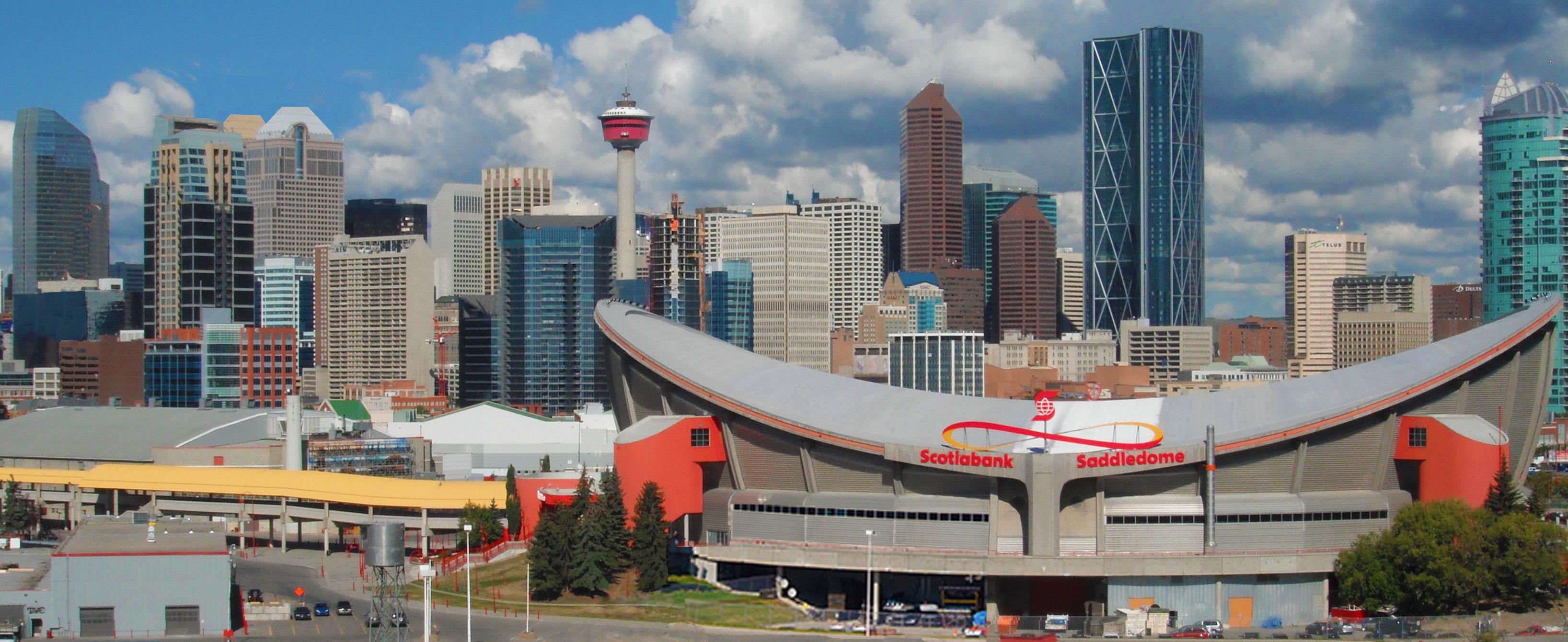 Calgary Skyline 2015