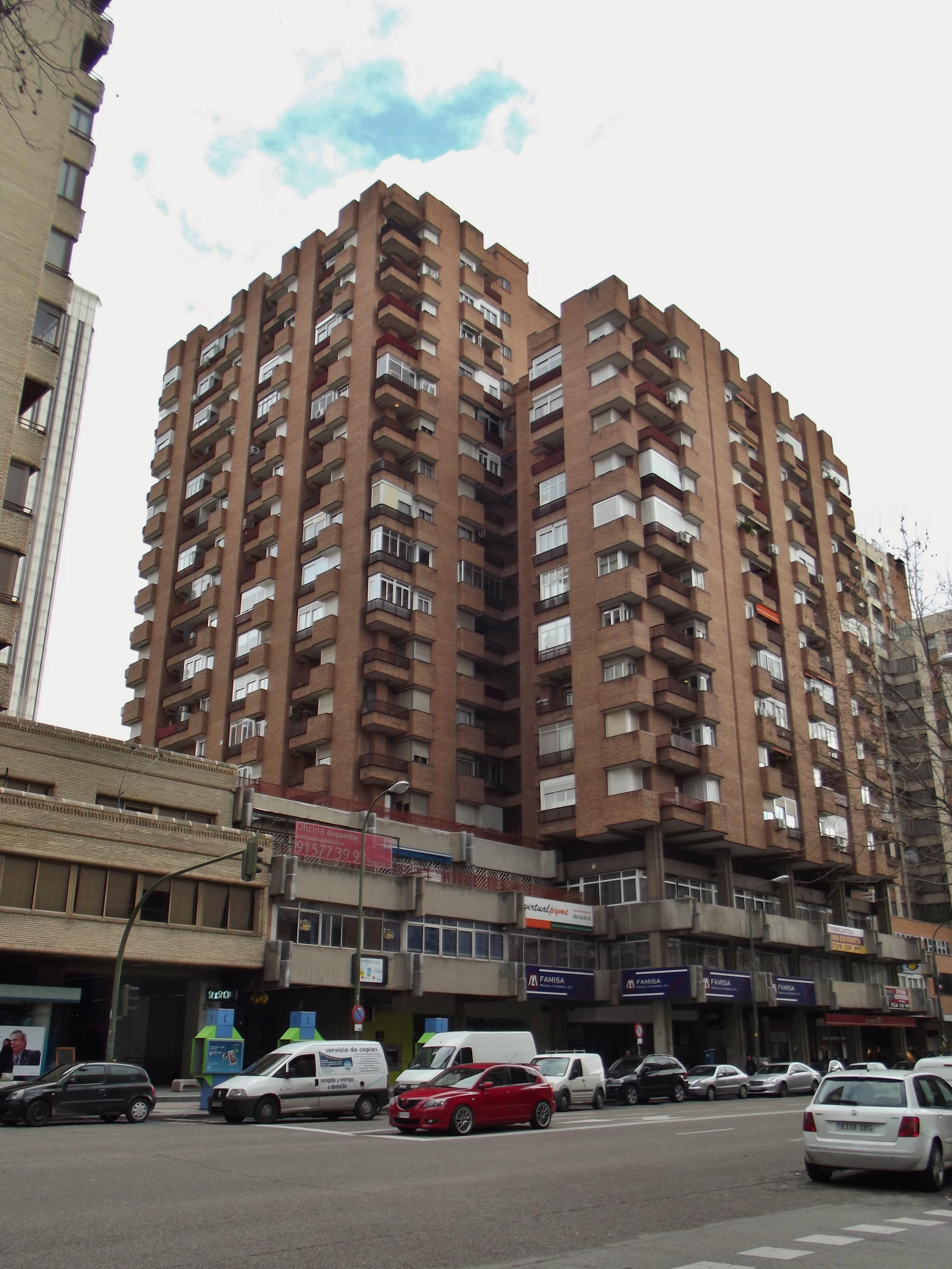 File calle de orense 18 20 madrid jpg wikimedia commons - Hm calle orense ...