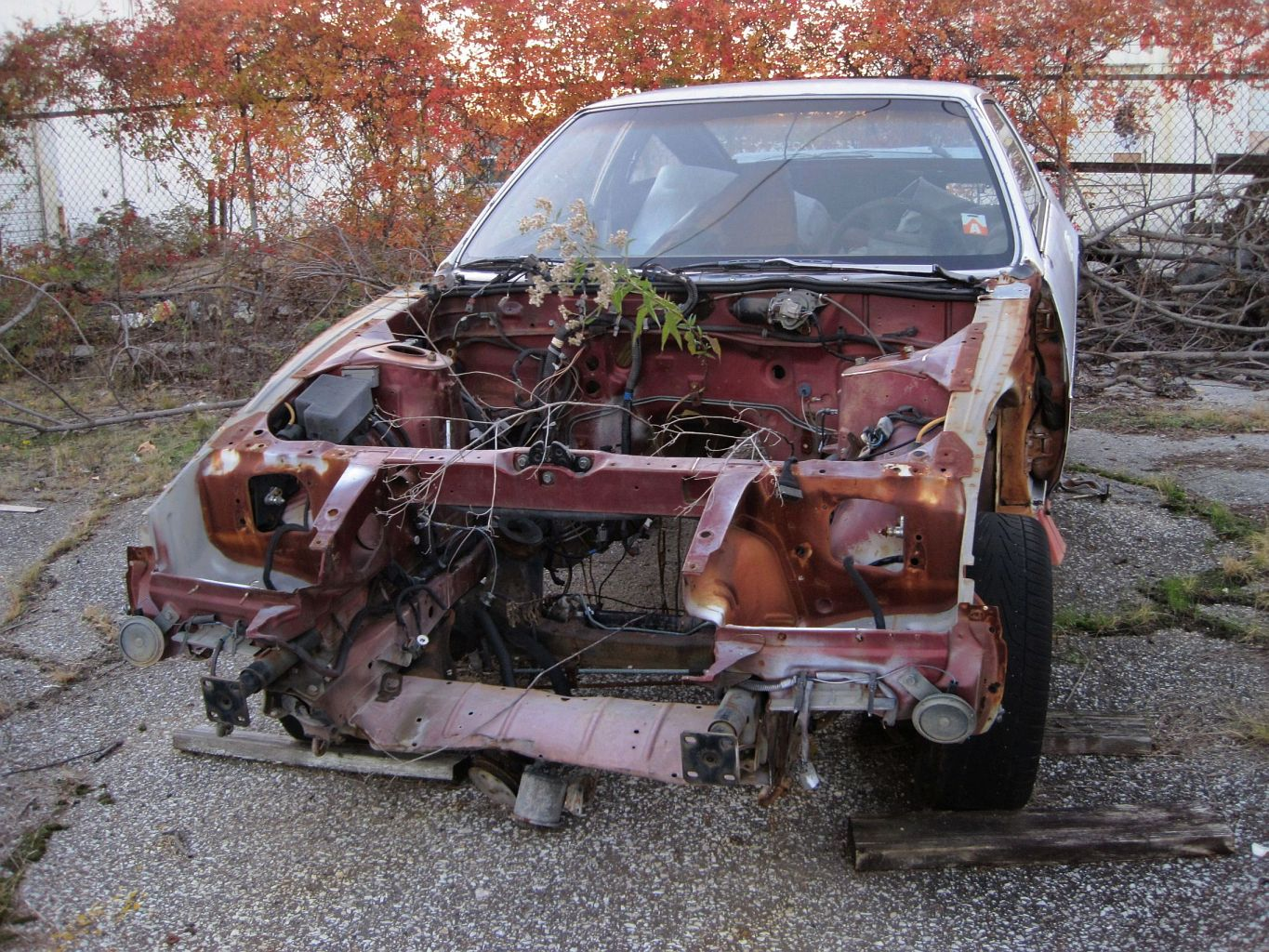 Image result for wrecked car