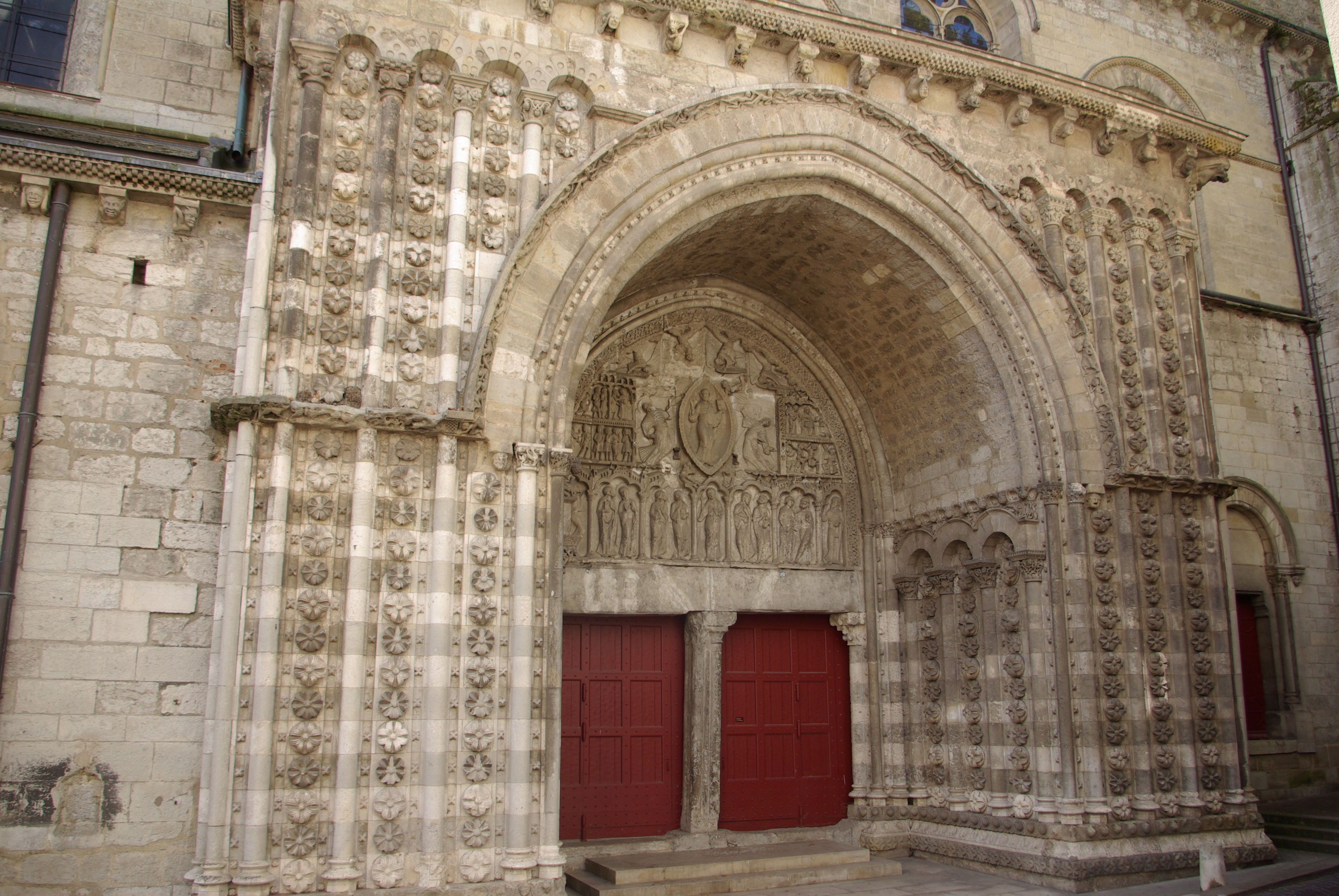 File cath drale saint tienne porte nord cahors jpg - Cathedrale saint etienne de cahors ...
