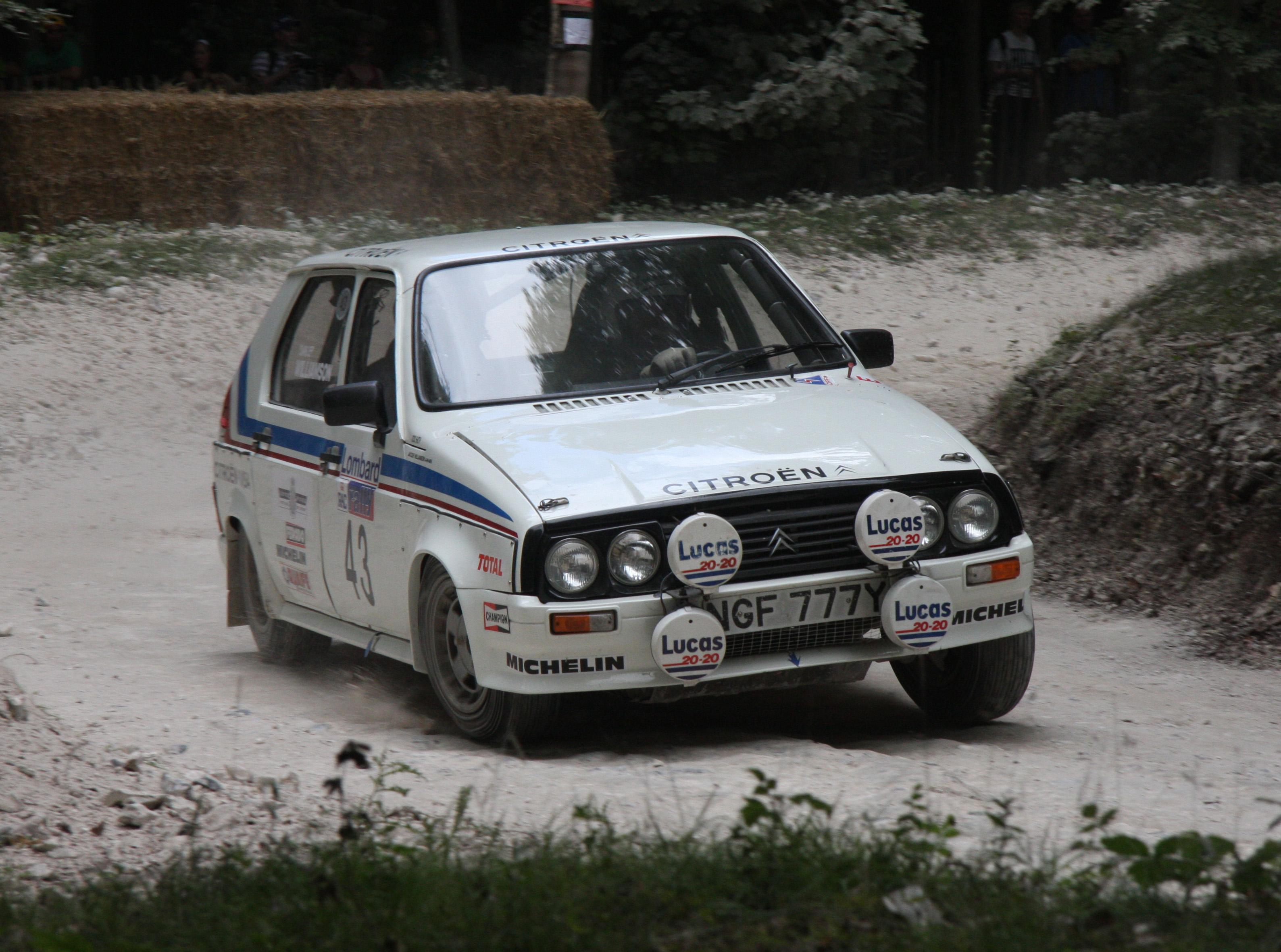 Citroën Visa Trophée Rally Car