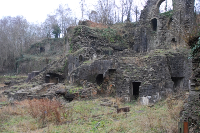 Clydach Gorge Iron Works - geograph.org.uk - 299525