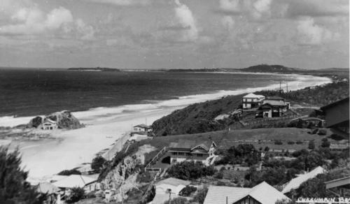Currumbin Beach on the Gold Coast Queensland circa 1938