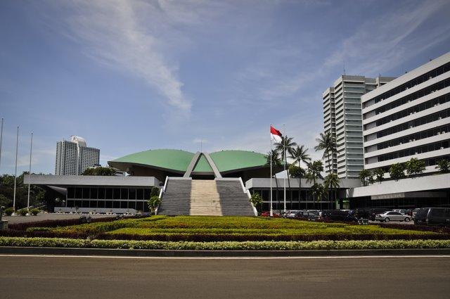 Kompleks gedung DPR-MPR