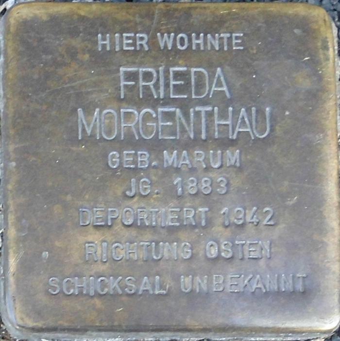 Deidesheim Stolperstein Frieda Morgenthau.png