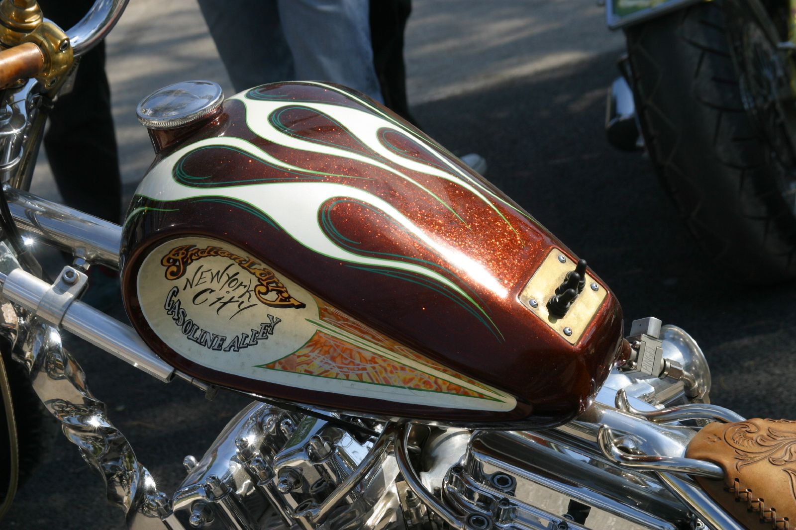 File:Detail of Indian Larry's Wild Child bike.jpg - Wikimedia Commons