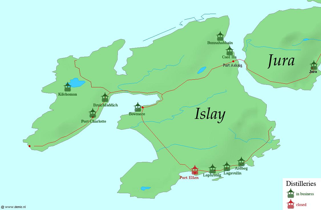 Port Charlotte distillery - Wikipedia on