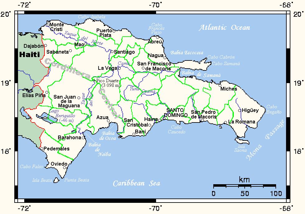 Geografa de la Repblica Dominicana  Wikipedia la enciclopedia
