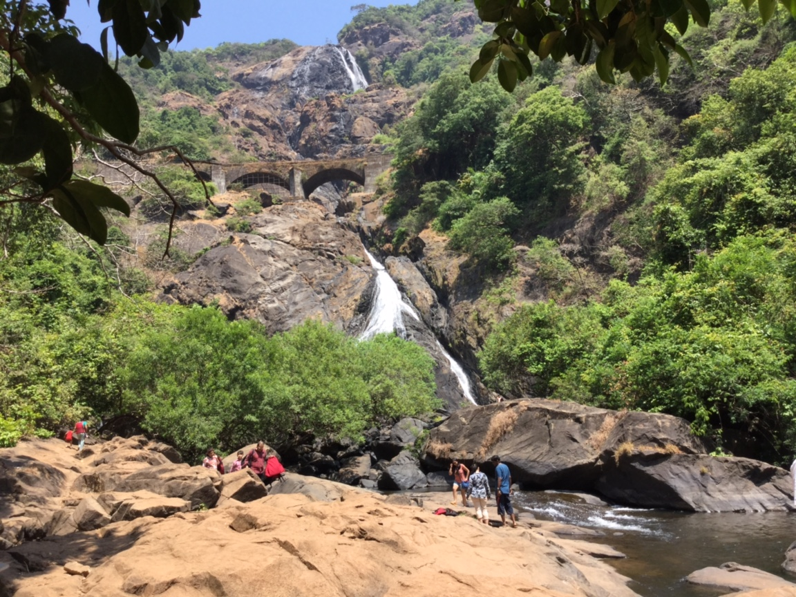 Image result for Dudhsagar Falls