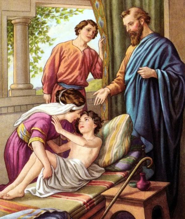 Elisha och den uppväckte pojken
