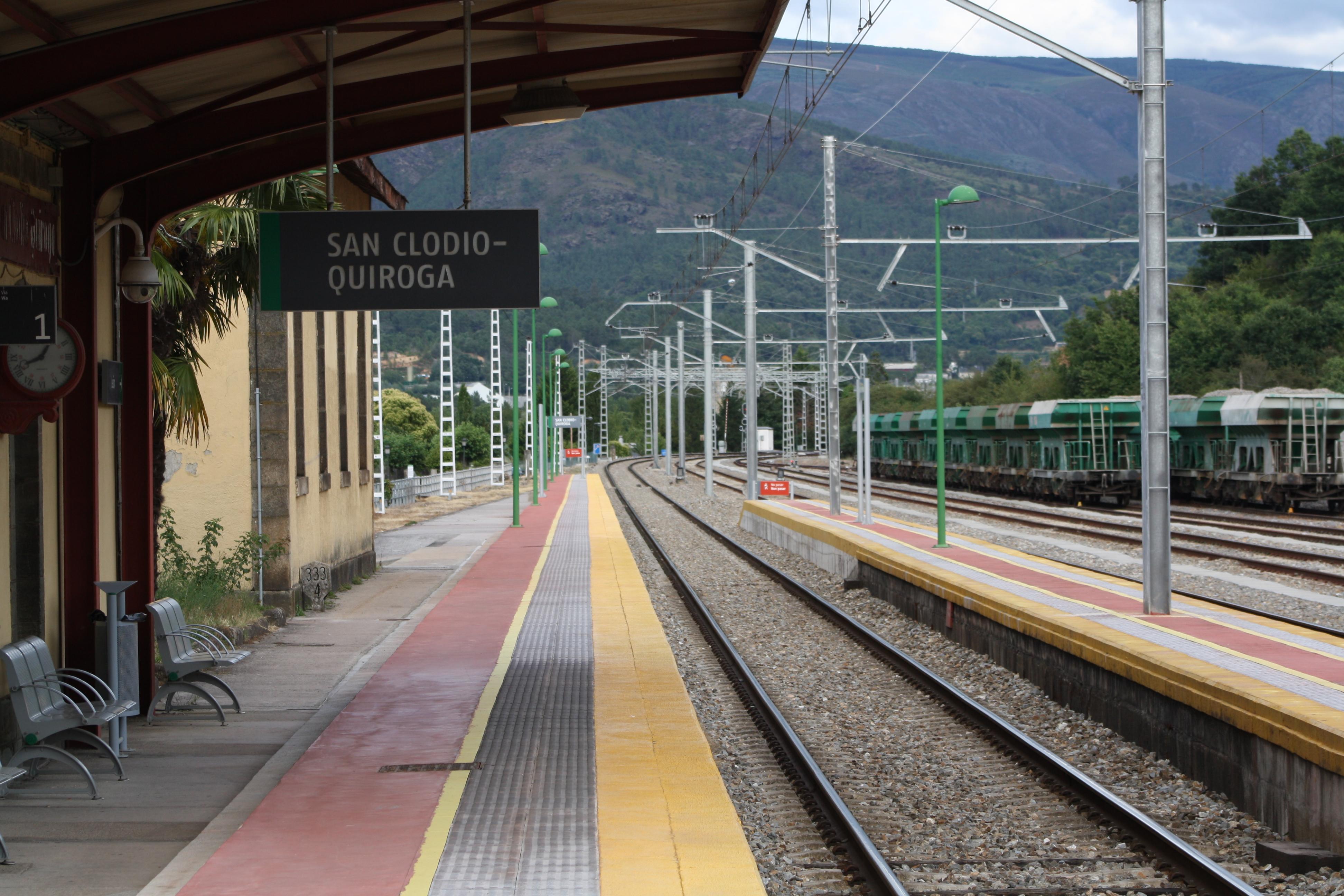 Estación de San Clodio-Quiroga