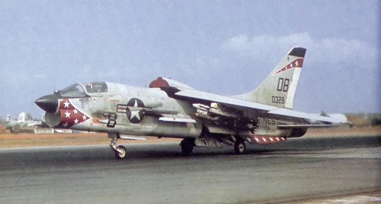 K Marine Viii File:F-8E VMFAW-235 Da...