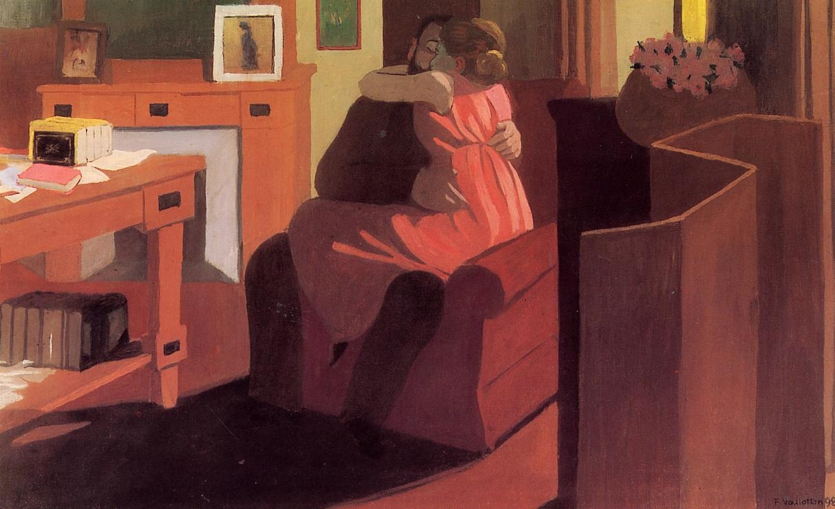 File:Felix Vallotton Interior with Couple and Screen (Intimacy).jpg ...
