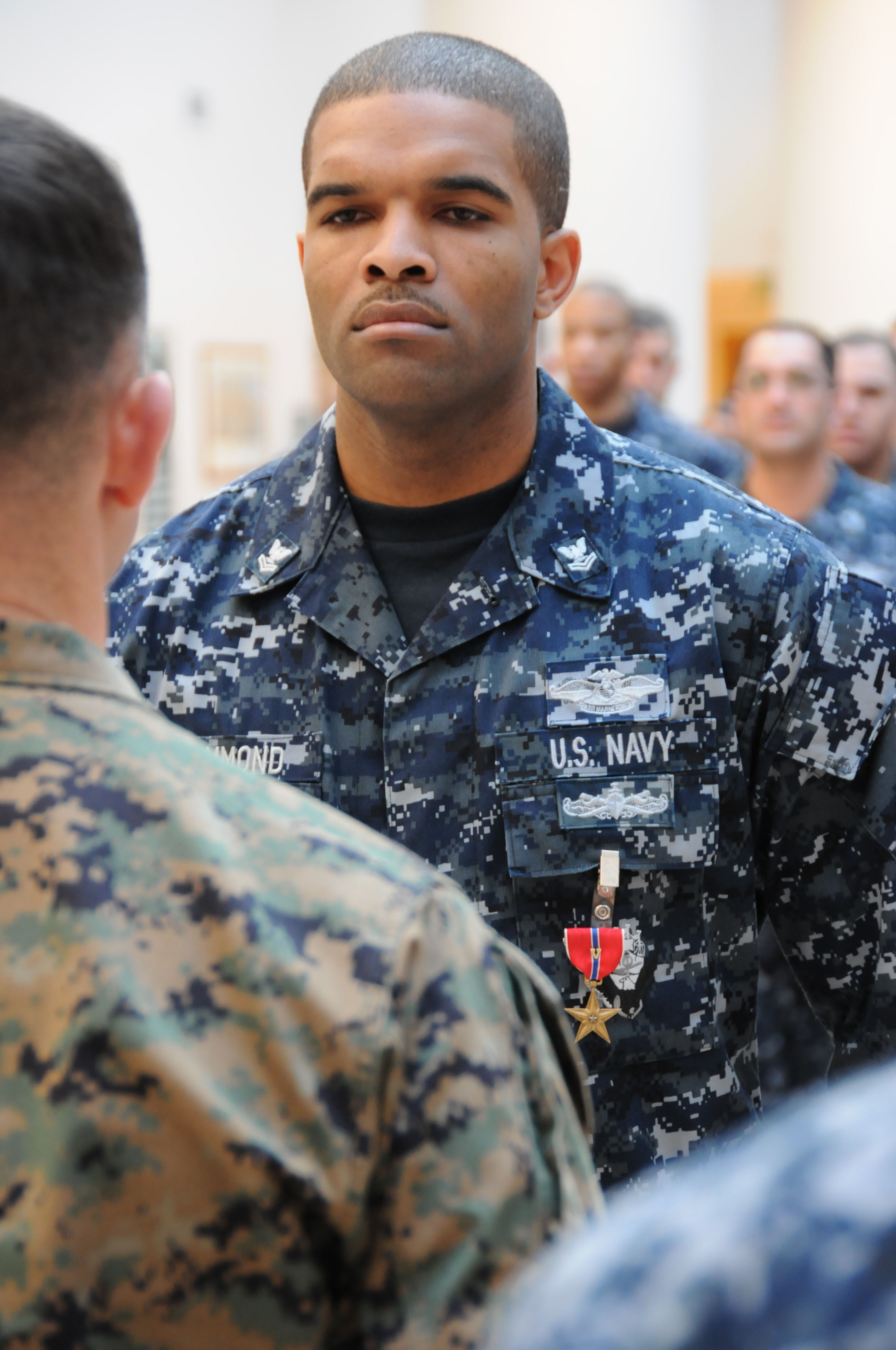 File:Flickr - Official U.S. Navy Imagery - Navy medic receives the ...