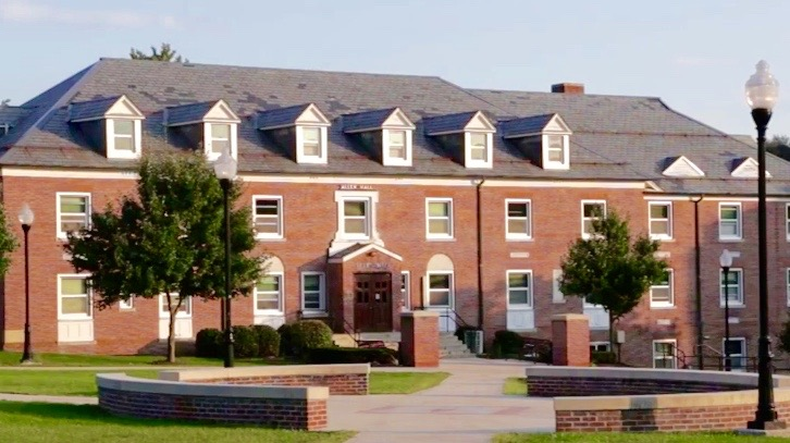 Frostburg State University, residential building, Allen Hall