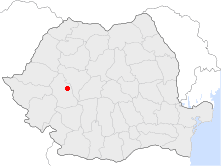 Location of Geoagiu
