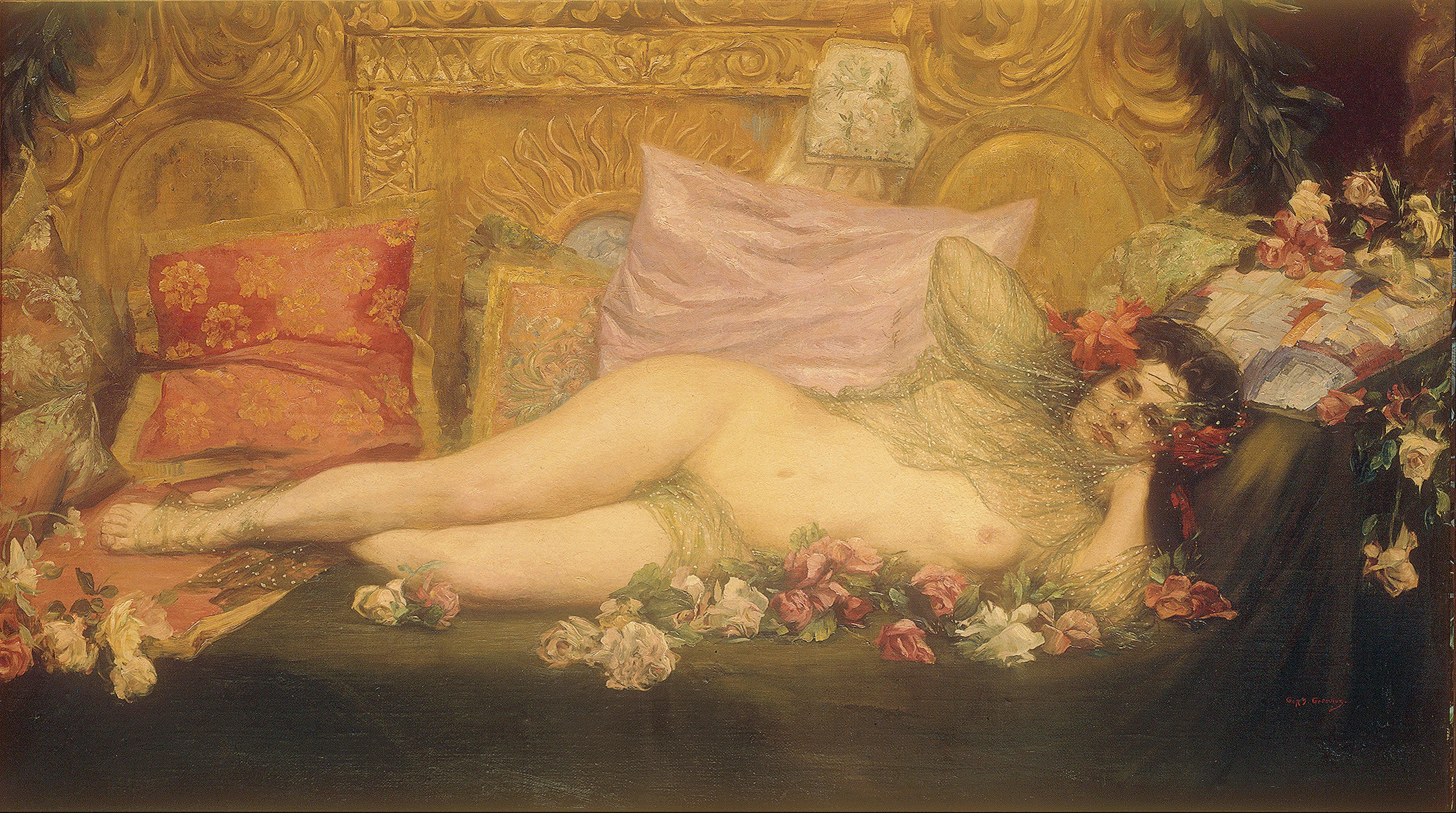 Renaissance nude digital art by rob prince