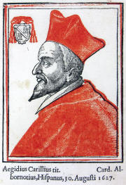 Gil Carrillo de Albornoz (1579–1649) Catholic cardinal