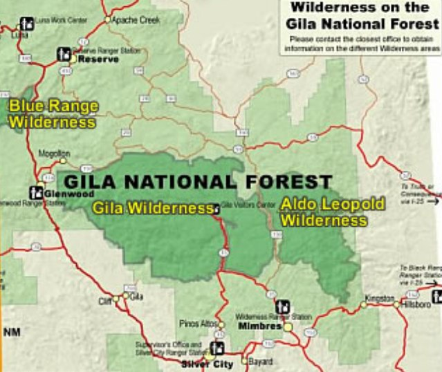 Description gila-aldo leopold wilderness