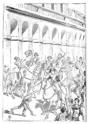 """File:Godoy preso, motín de Aranjuez. Ilustración de """"El 19 de marzo y el 2 de mayo"""" de Galdós.jpg"""