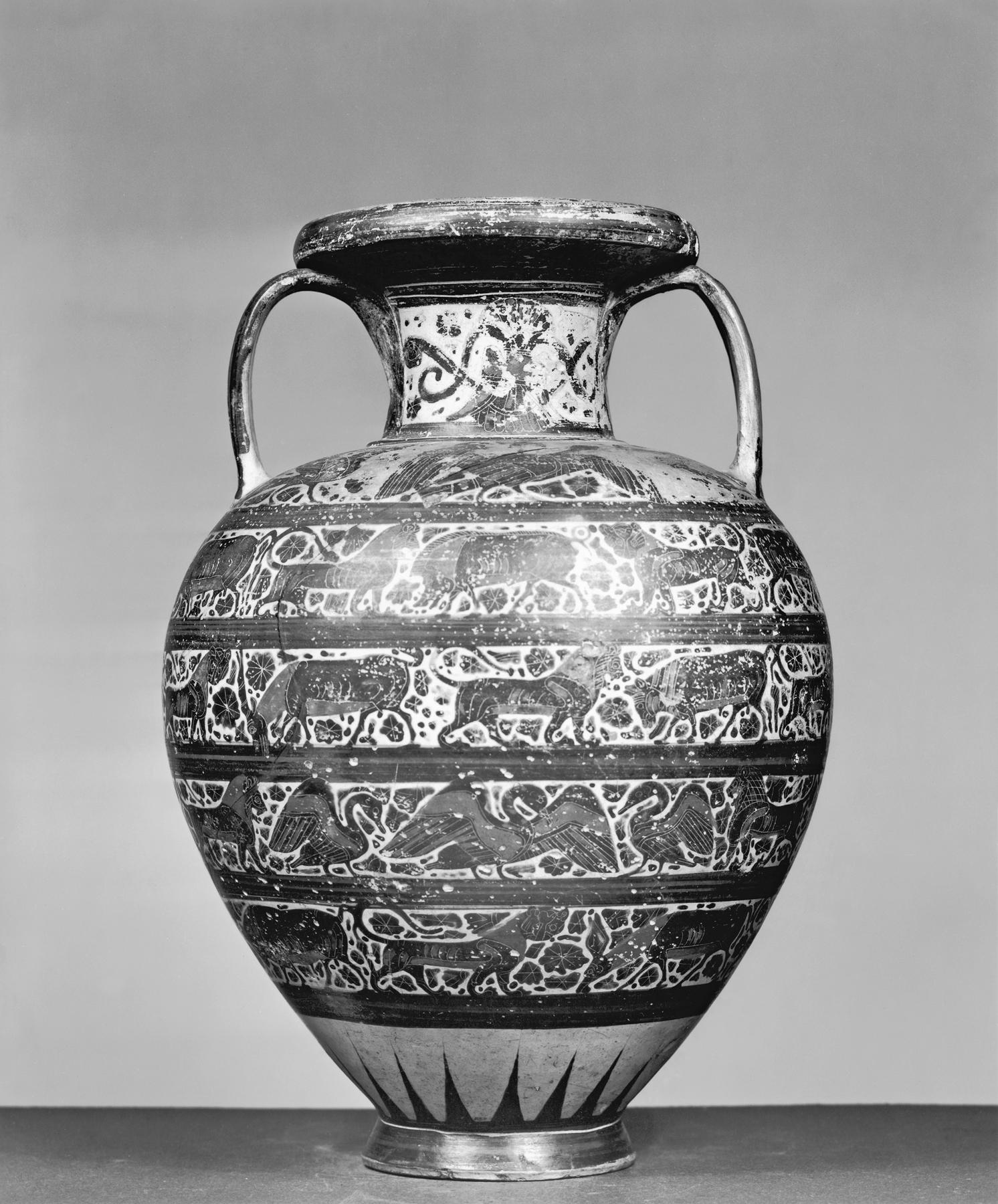 Filegreek early corinthian amphora with real and fantastic filegreek early corinthian amphora with real and fantastic animals walters 482033 reviewsmspy