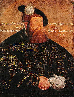 Gustav Vasa, via Wikipedia Commons