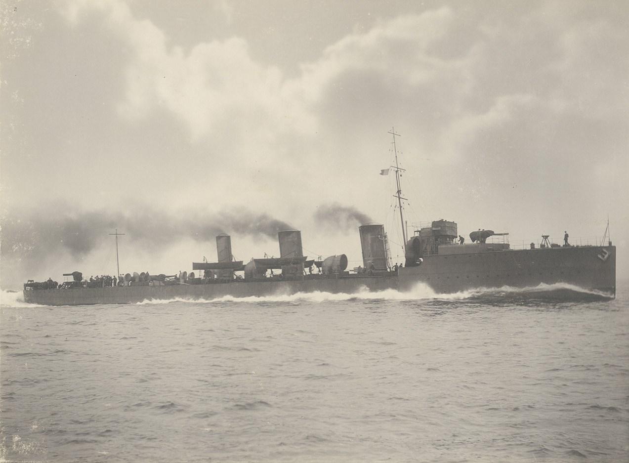 HMS_Scourge_at_sea_(15832433805).jpg