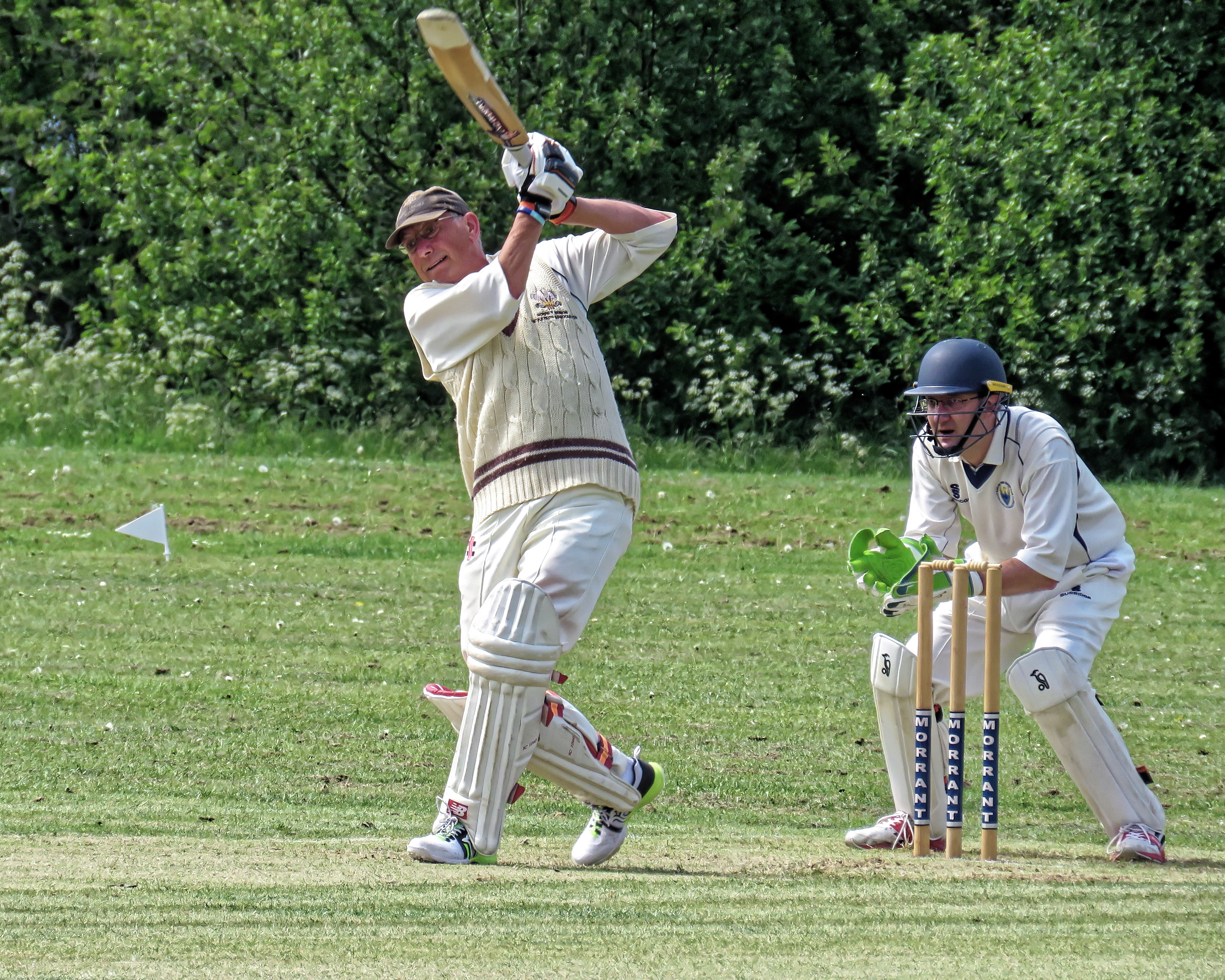 File:Harlow Town CC v Old Victorians CC at Harlow, Essex