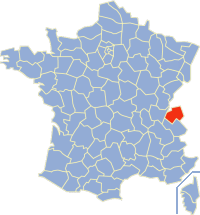 Communes of the Haute-Savoie department