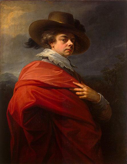 Г. Ф. Фюгер. Портрет князя Н. Б. Юсупова, 1783 (фрагмент) Государственный Эрмитаж (Санкт-Петербург)