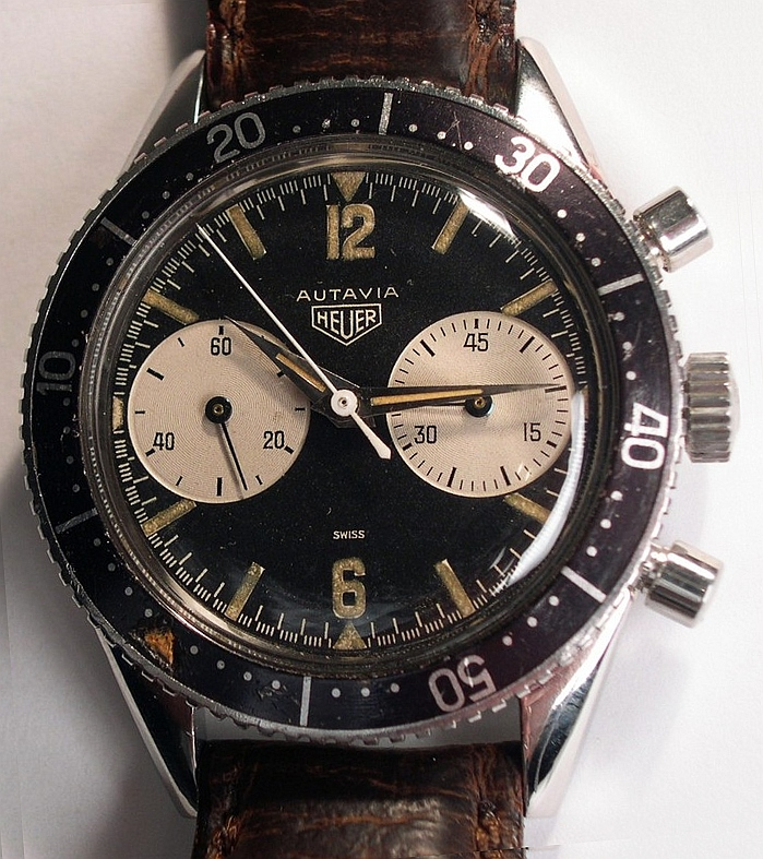 Heuer Autavia Chronograph, with Valjoux 92 mov...