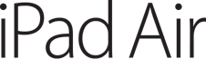 File:IPad Air Logo.png