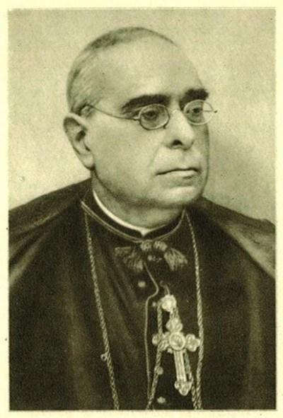 Doctor don José Torras y Bages (1846-1916), obispo de Vich.