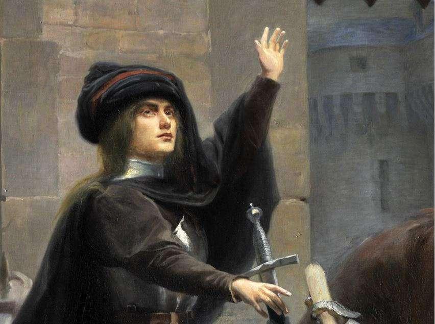 Jean-Jacques Scherrer - Le départ de Vaucouleurs (détail).jpg