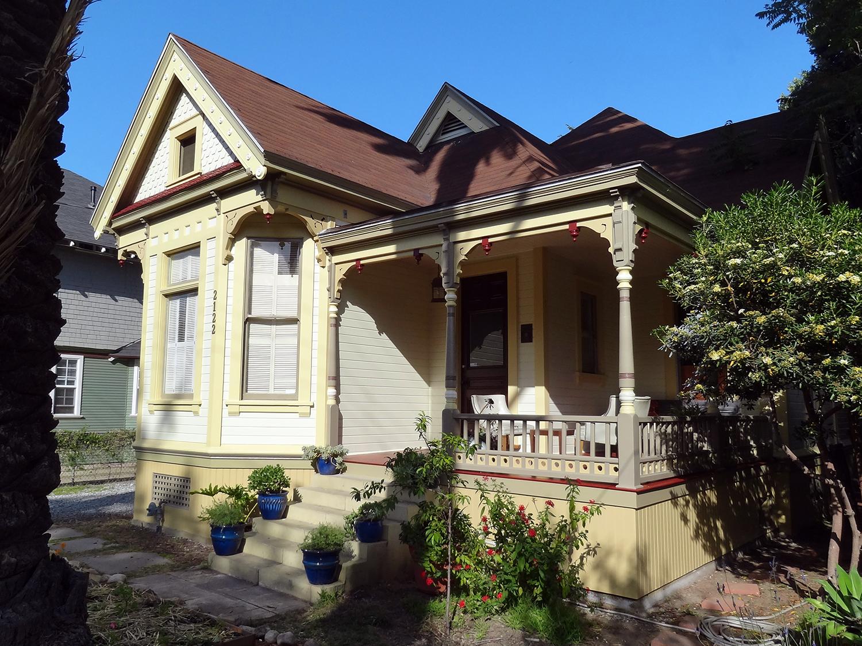 West Adams Gordon L. McDonough House Craftsman Architecture