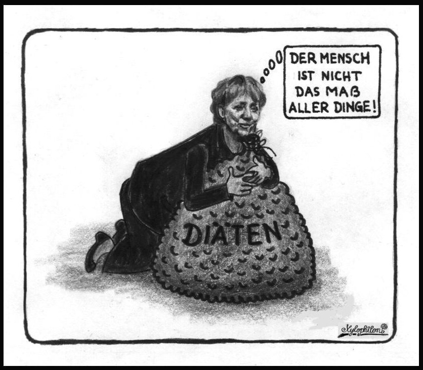 Bildergebnis für Wikimedia Commons Bilder Karikatur Merkel