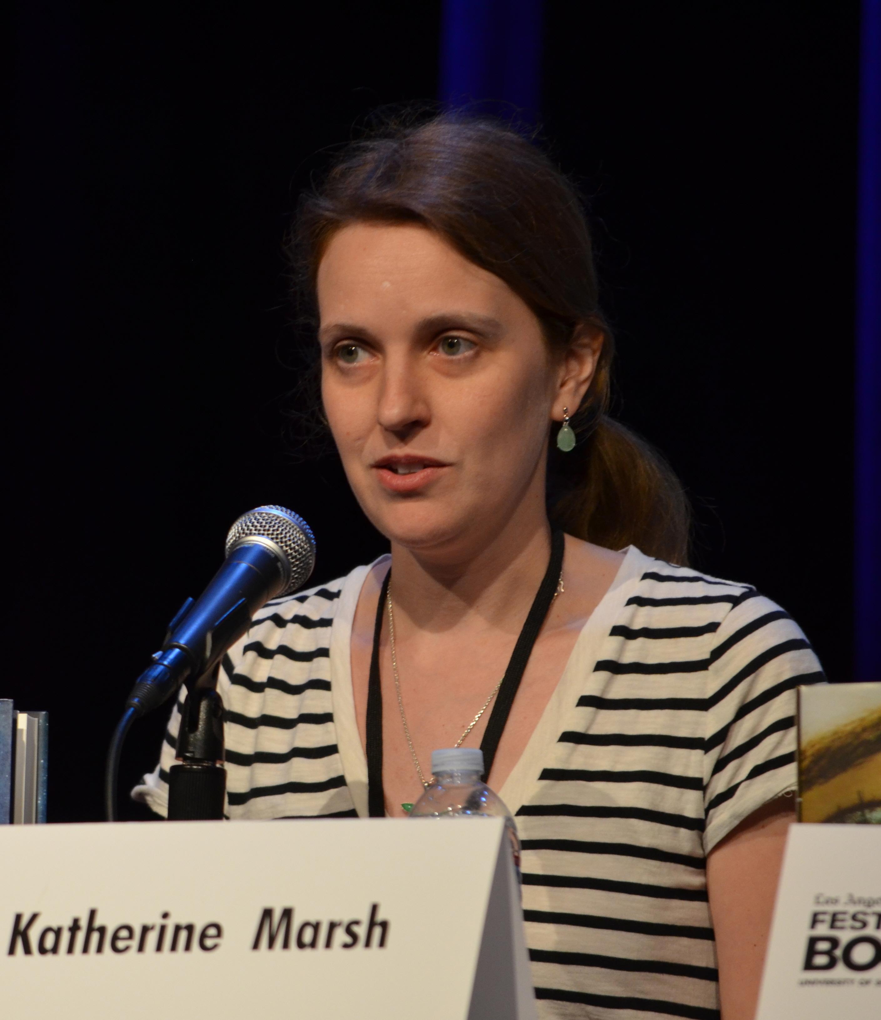 Katherine Marsh on l 21, 2013