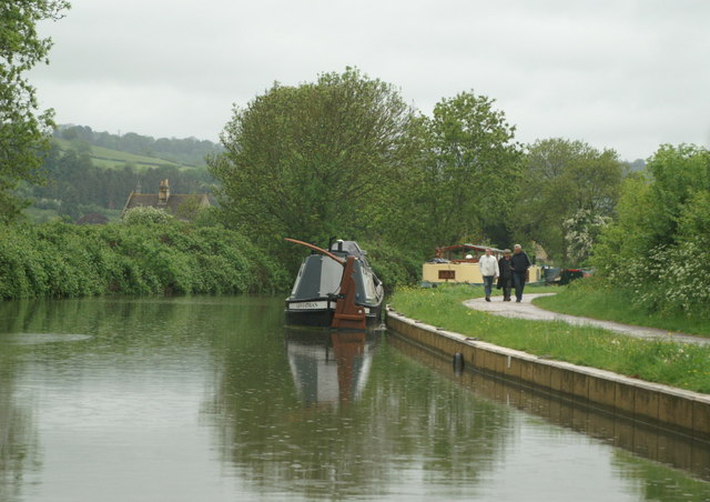 Kennet and Avon Canal above Bathampton - geograph.org.uk - 178606