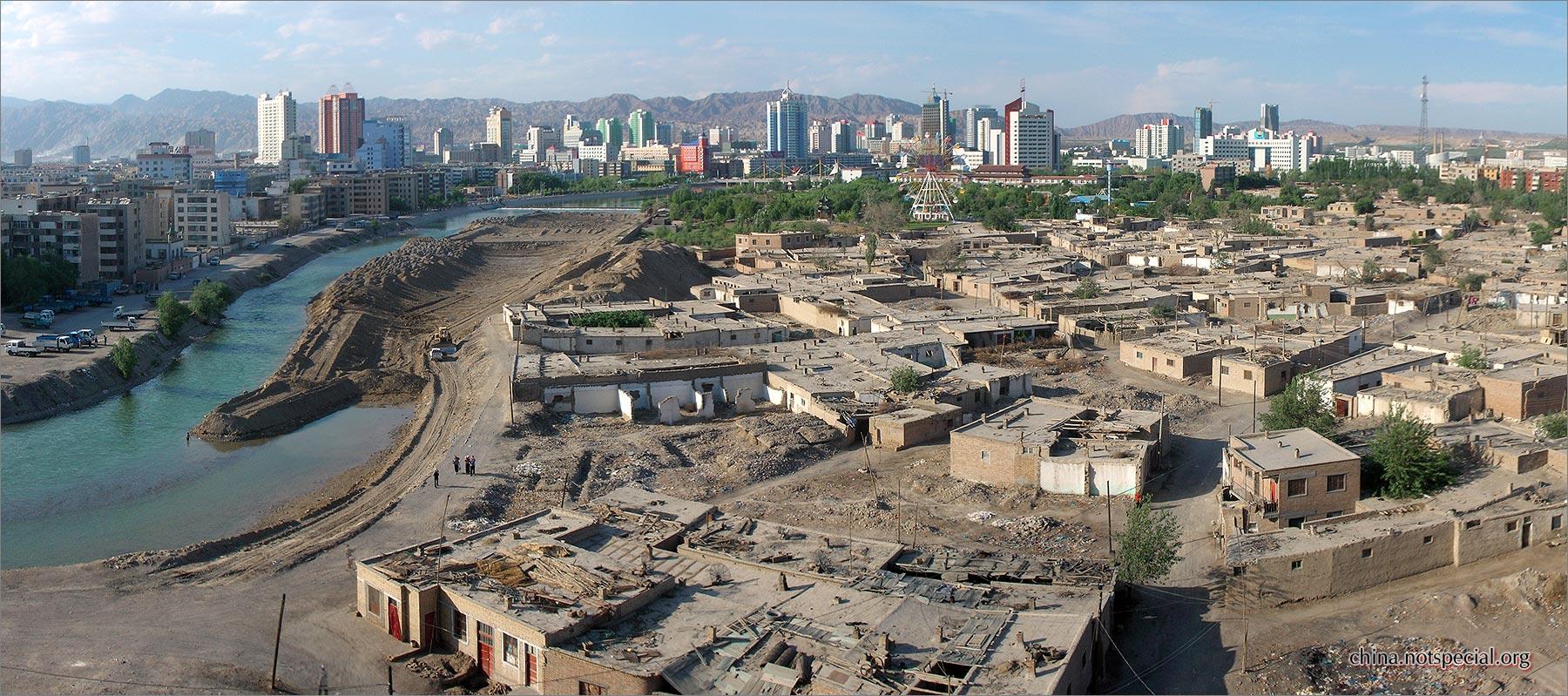 Korla China  City new picture : Korla may2007panorama Wikimedia Commons