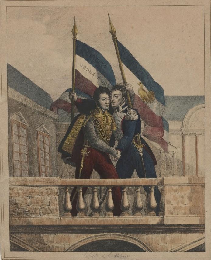 File:La Fayette et Louis-Philippe - 31 juillet 1830.jpg