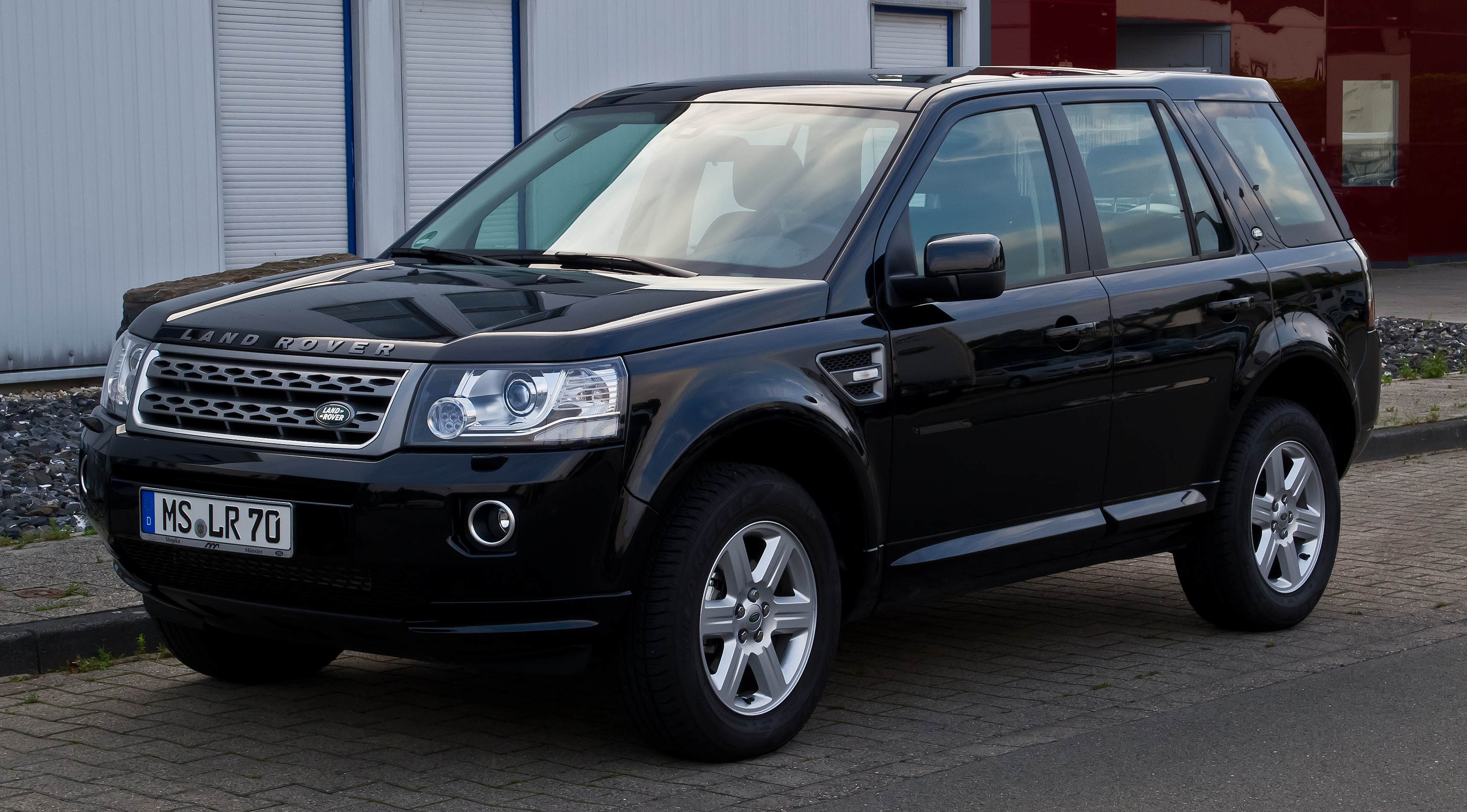file land rover freelander td4 s ii 2 facelift frontansicht 21 august 2013 m. Black Bedroom Furniture Sets. Home Design Ideas