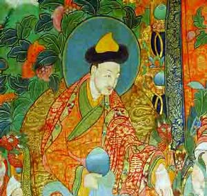 Mongolian Khoshuud/qoshut leader and king of Tibet