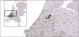 Location of Jacobswoude