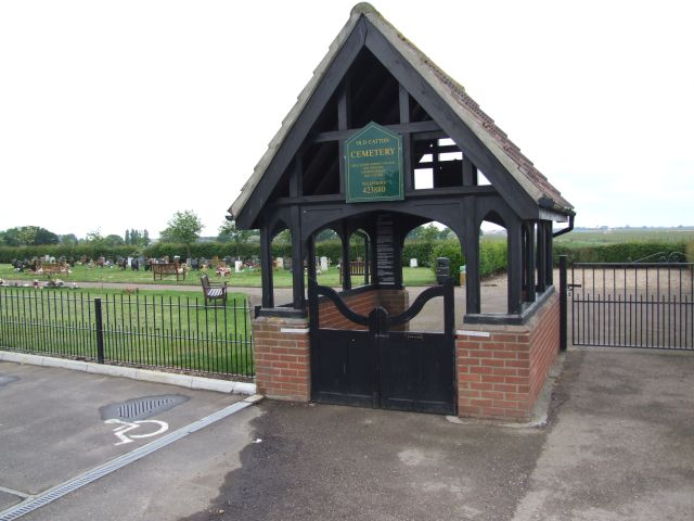File:Lych Gate to Old Catton Cemetery - geograph.org.uk - 436002.jpg