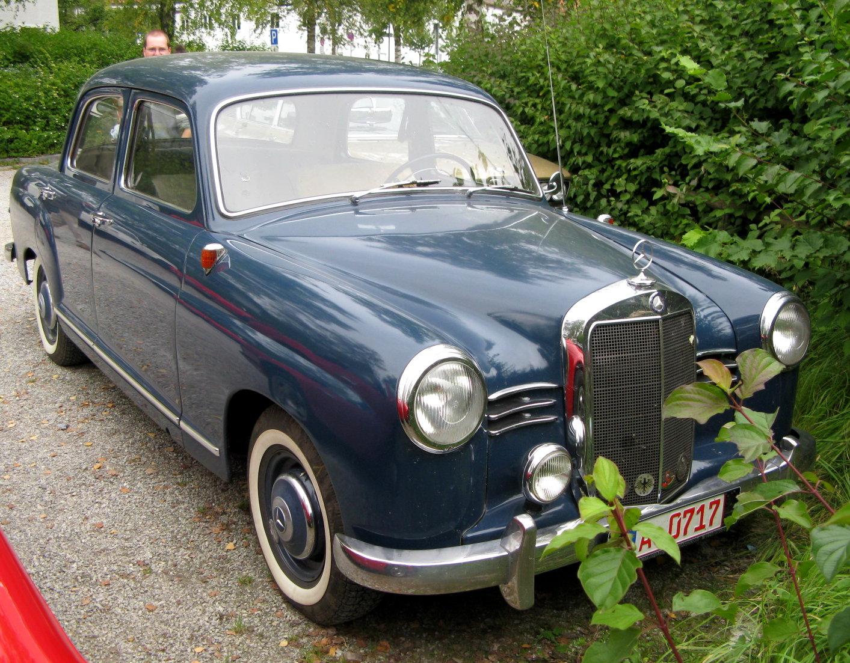 Mhv mercedes benz w120 1953 for 1953 mercedes benz